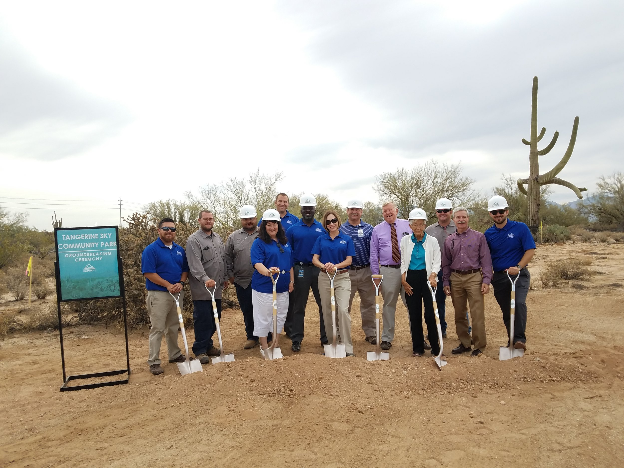 Town of Marana Parks and Recreation staff
