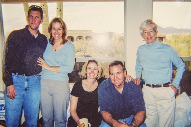 Carol McGorray and family