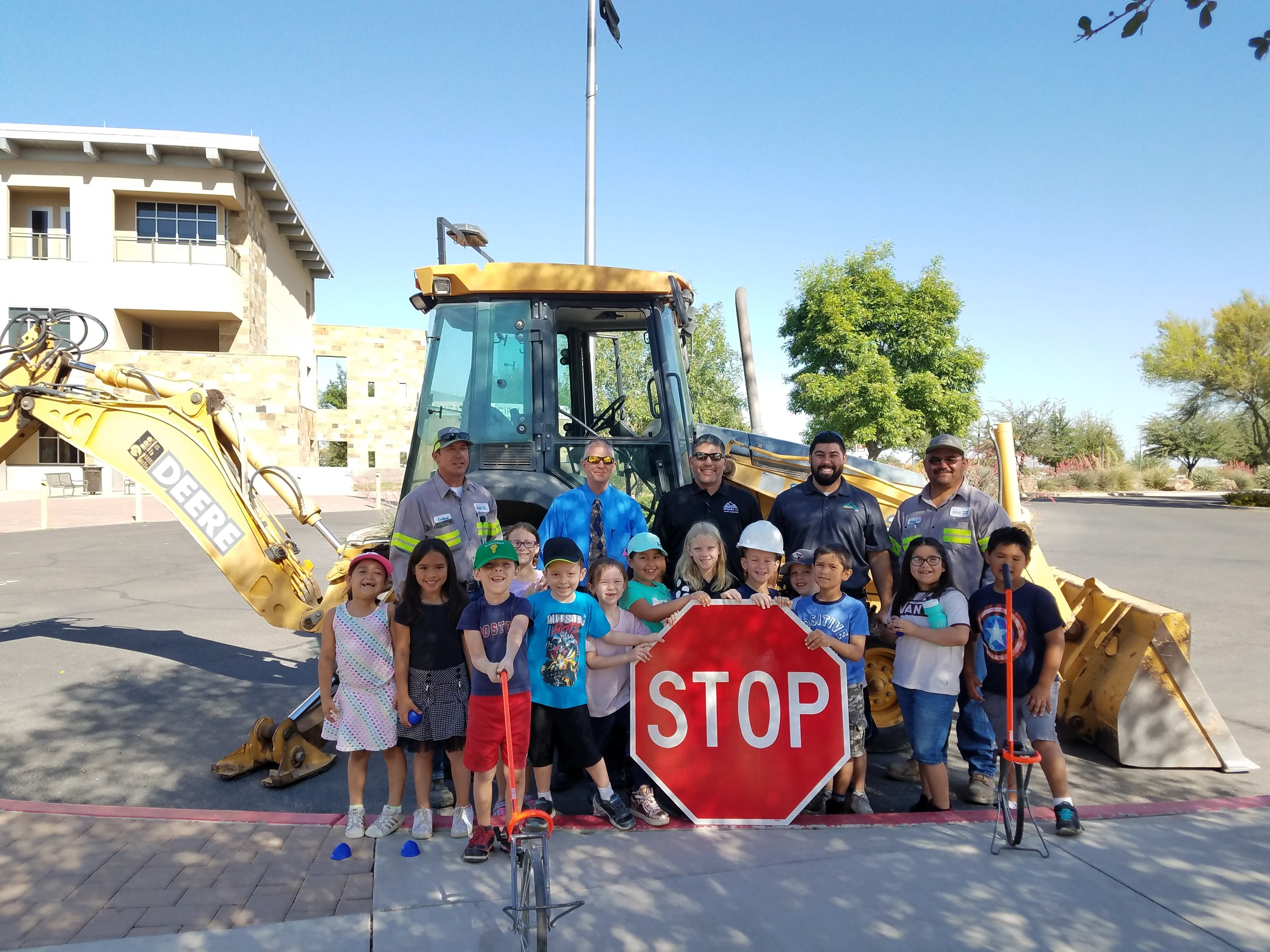 Learning about Town of Marana Public Works