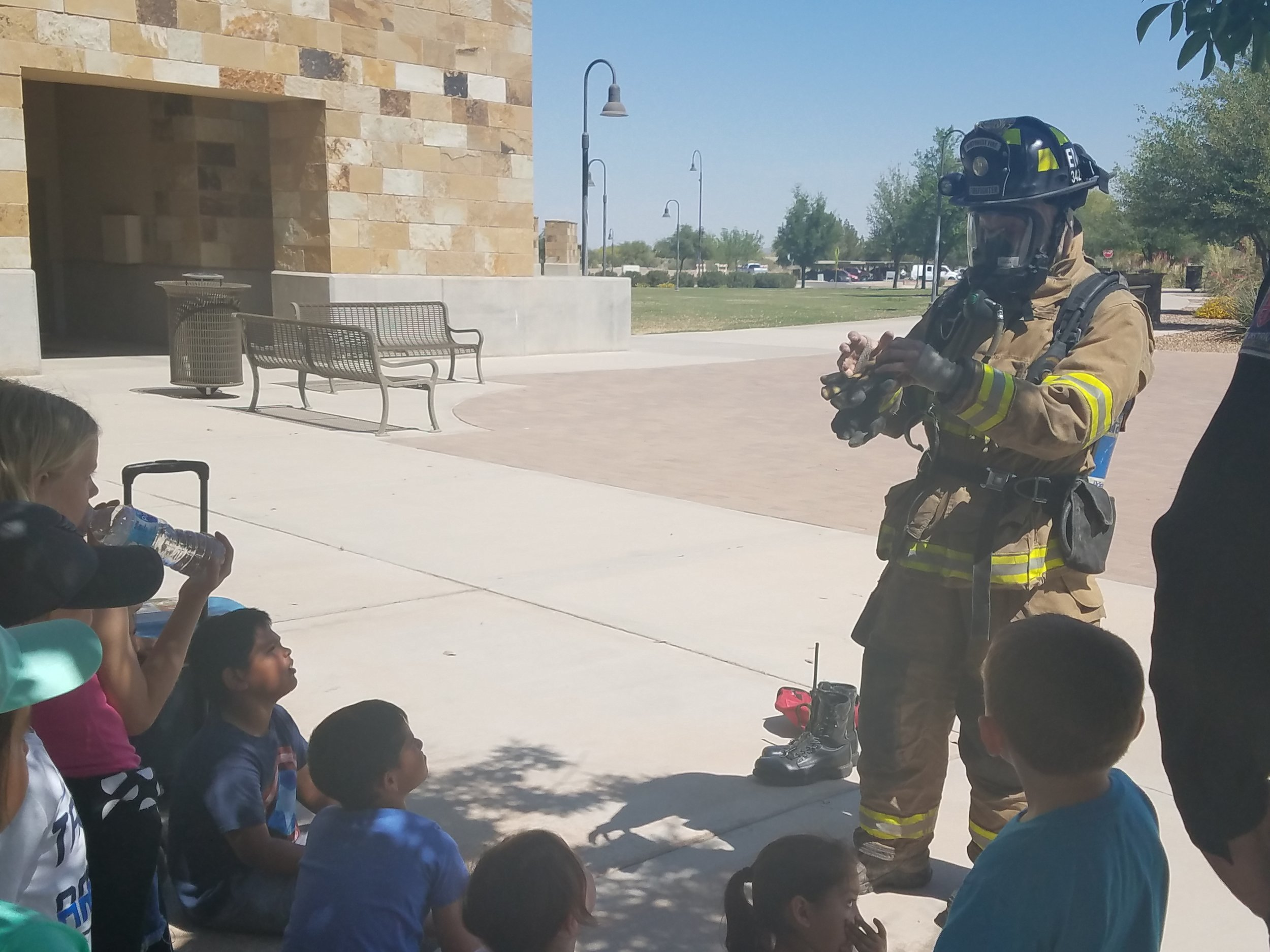 Northwest Fire District provides a demonstration
