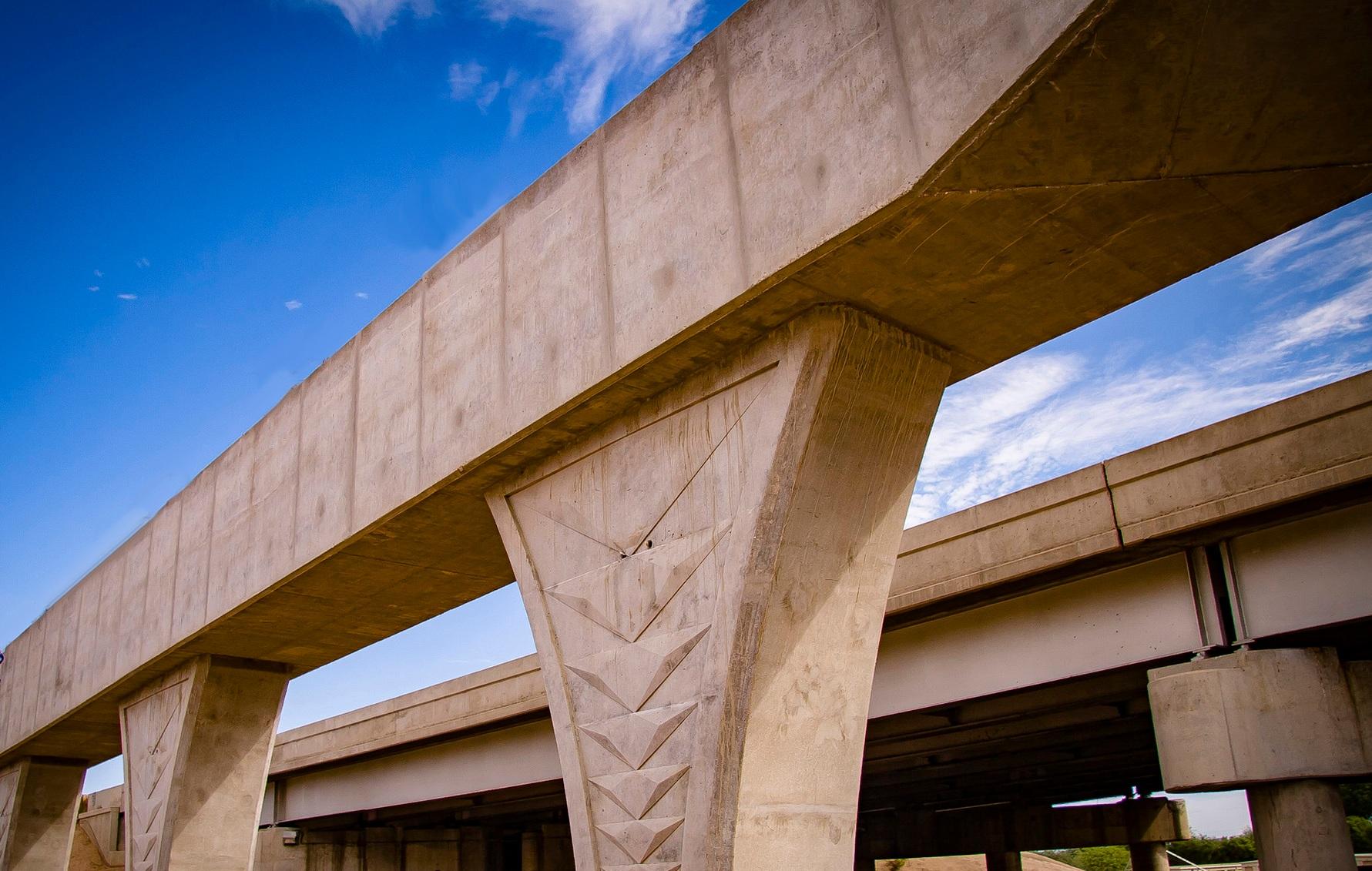 Ina Road bridge construction/Courtesy ADOT