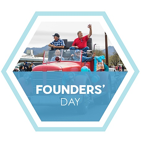 Marana Founders' Day logo.