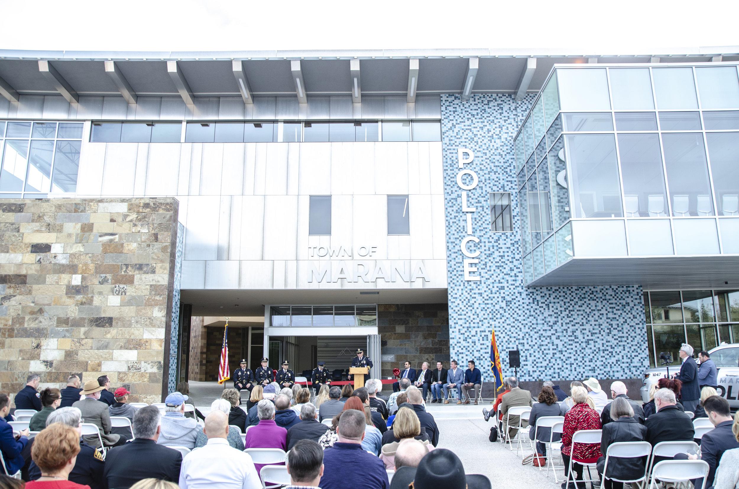Marana Police Facility grand opening.