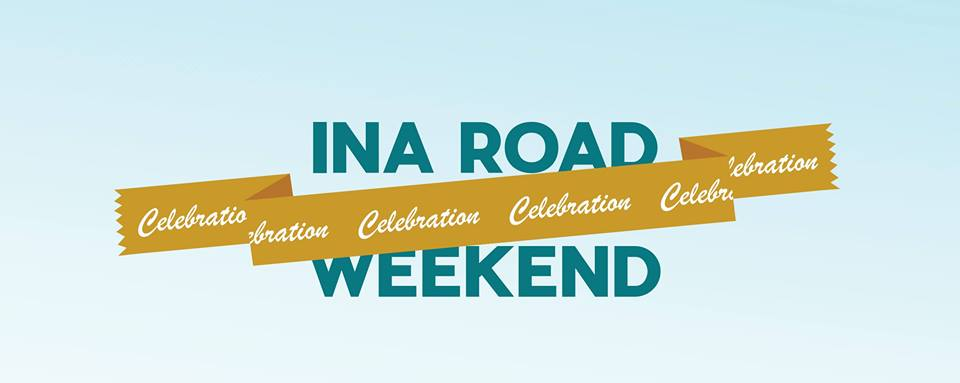 Ina Road Celebration Weekend begins Saturday, May 4.