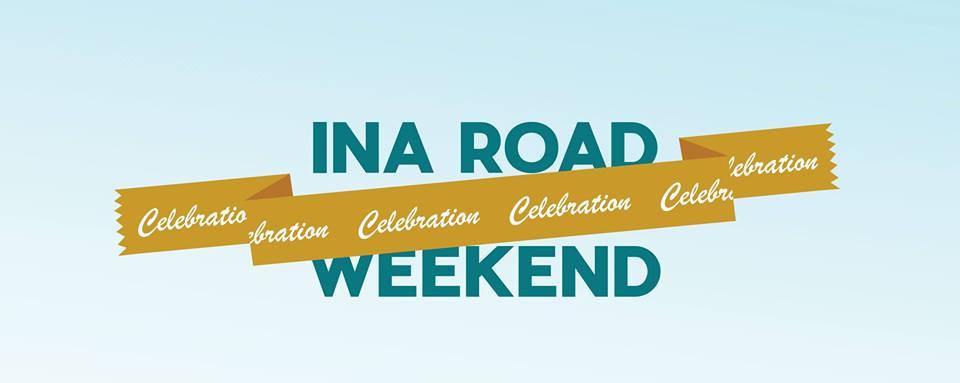 Ina Road Celebration Weekend begins Saturday, May 4.