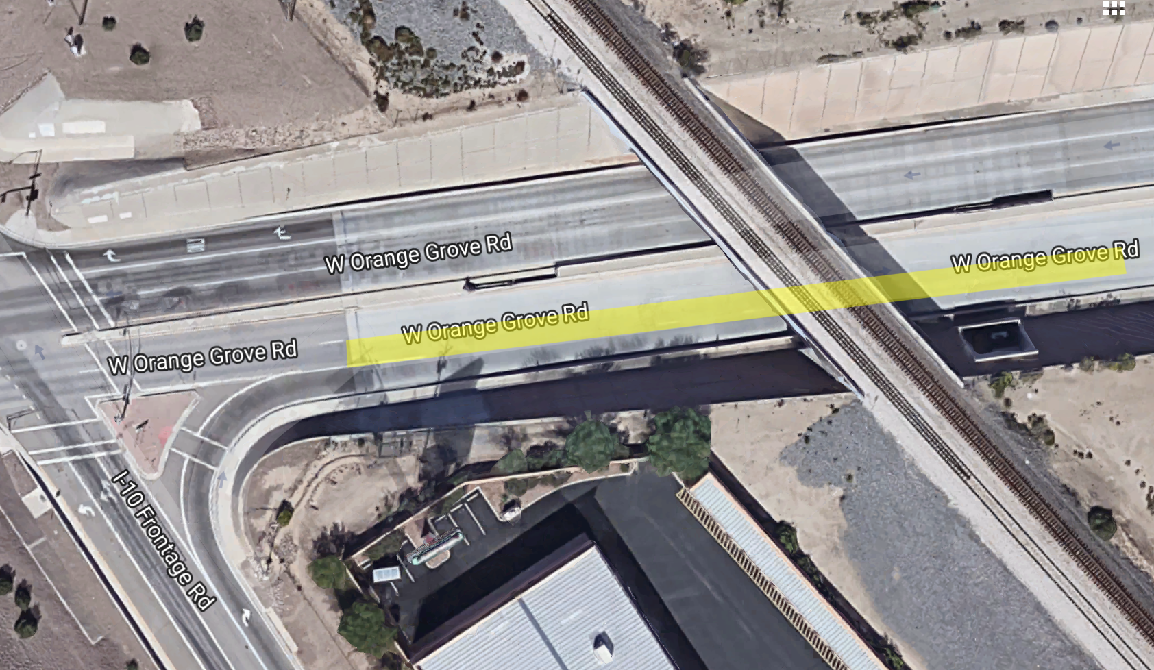 Expect lane closures on Orange Grove on May 10
