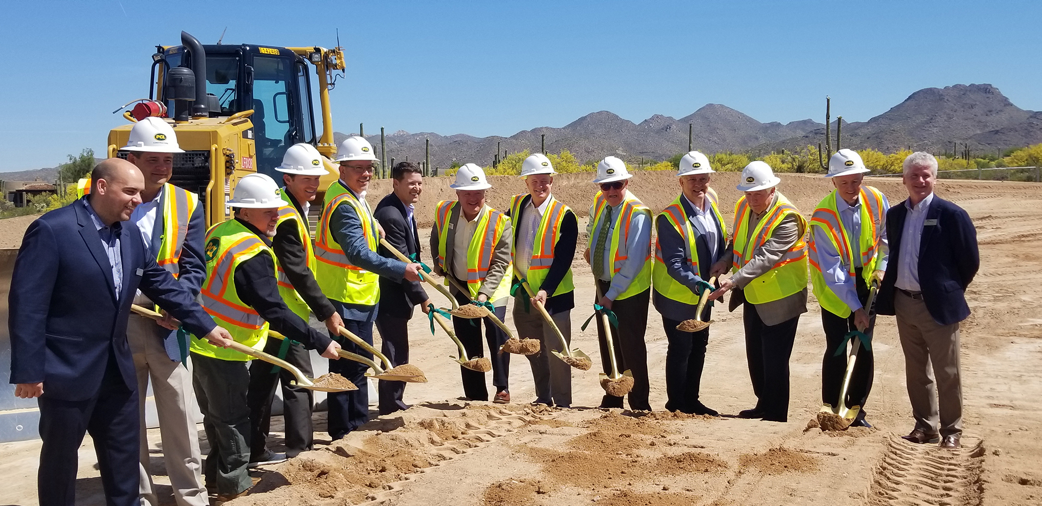 Sun Corridor Inc. held a groundbreaking ceremony for the new Dove Mountain Senior Living.