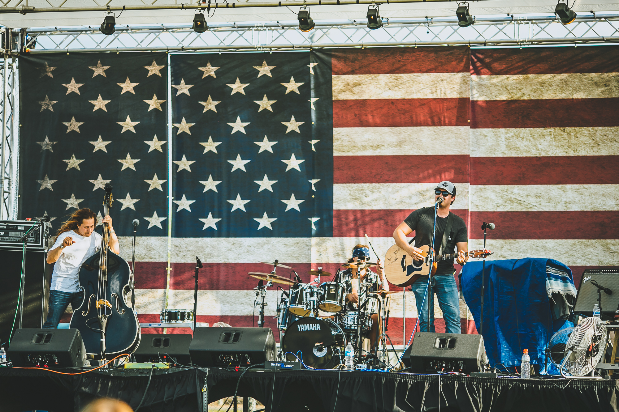 Free music is a feature of the Star Spangled Spectacular.
