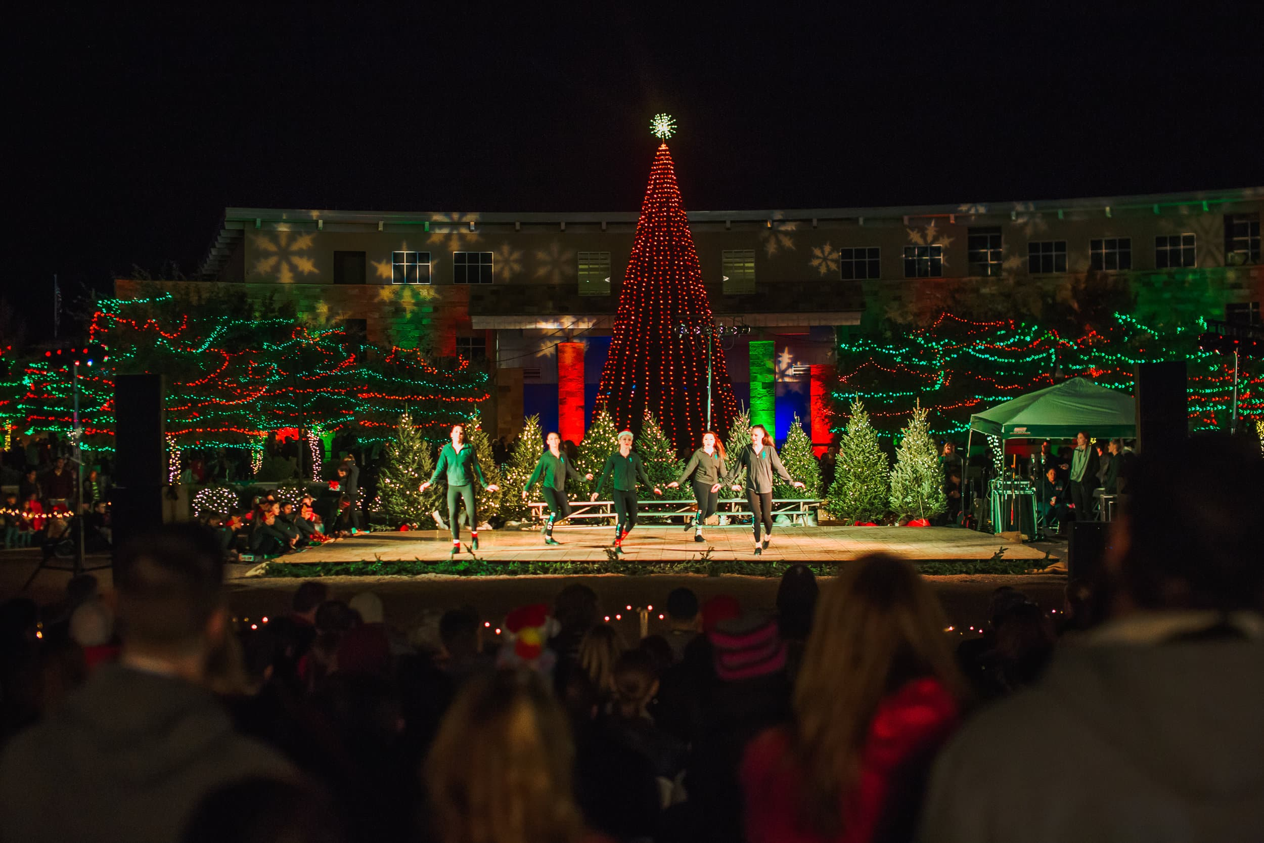 Performers at Marana Holiday Festival
