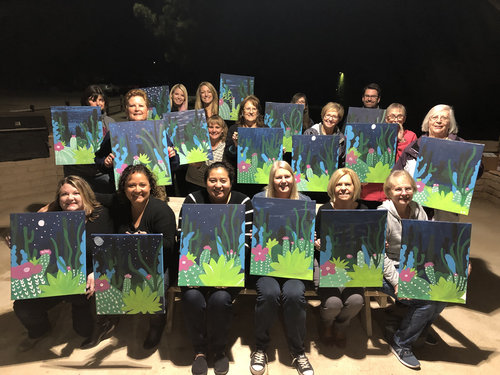 Paint Nights at the Park.