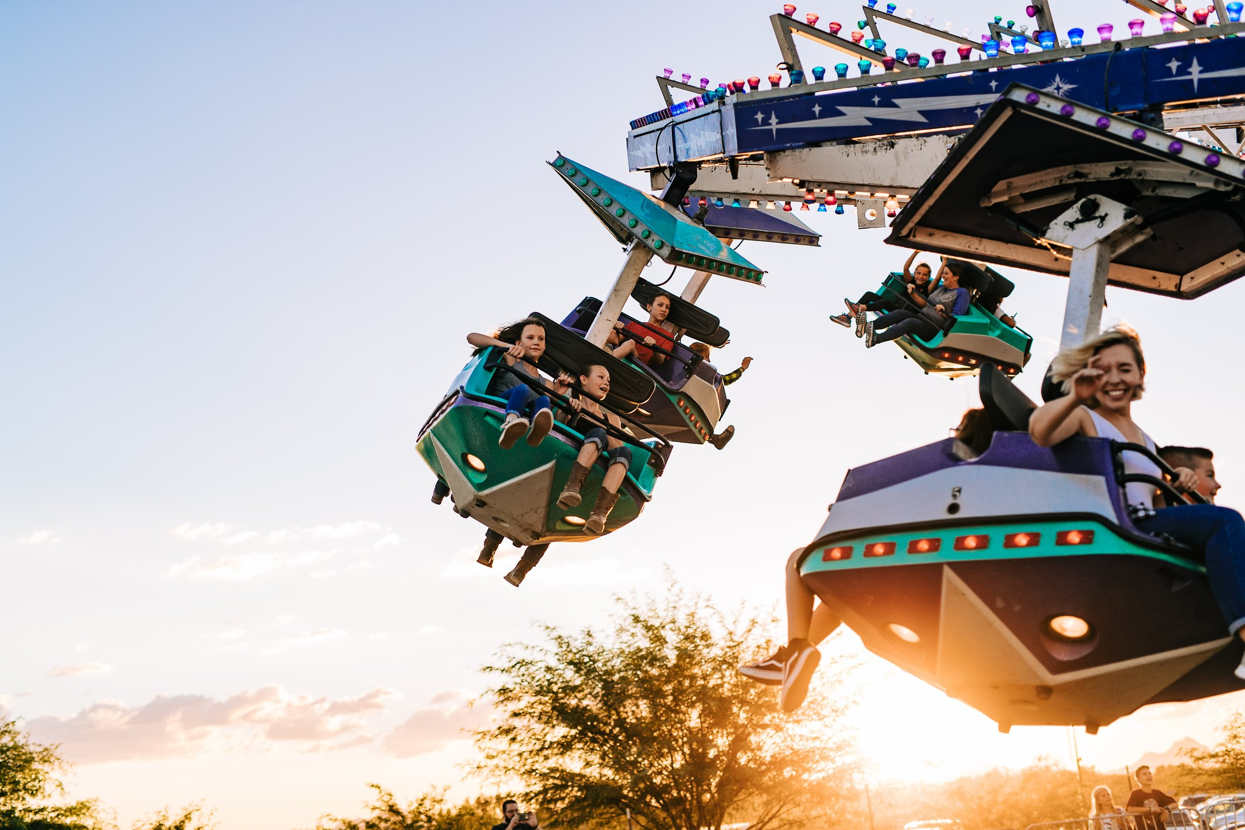 Carnival Ride from Marana Fall Festival