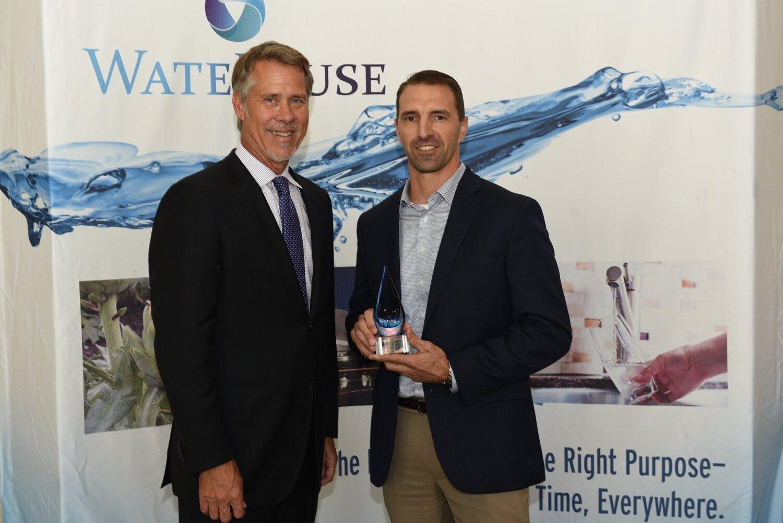 Paul Jones, President, Water Reuse Association and Scott Schladweiler, Interim Water Director, Marana Water .