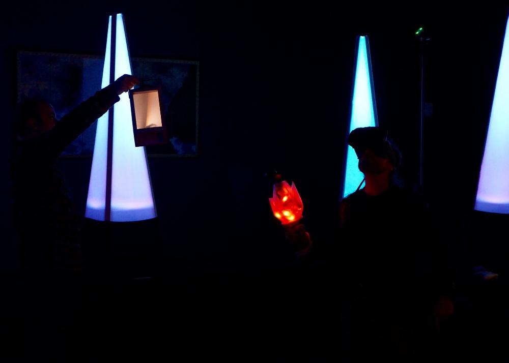 Torch and lantern bearer