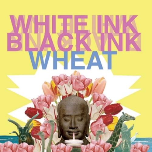 Wheat - White Ink, Black Ink