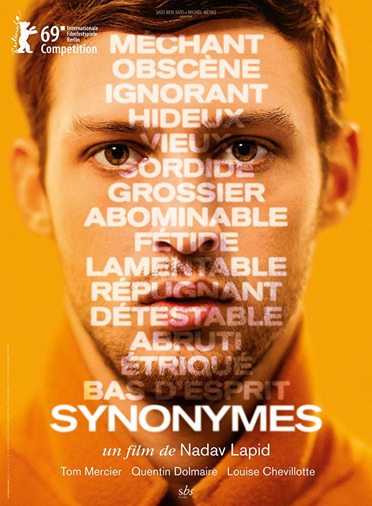 Synonymes directed by Nadav Lapid