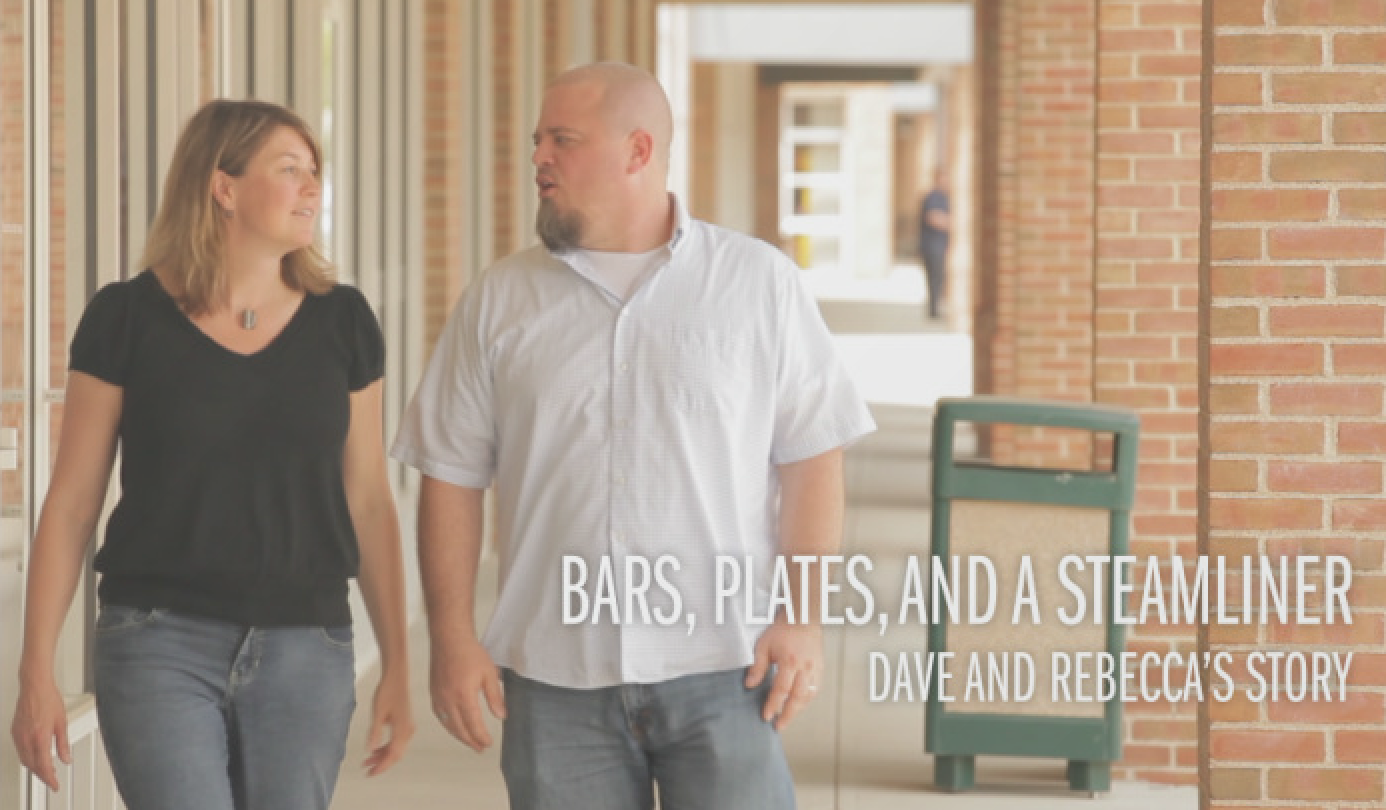 Click here to hear Dave and Rebecca's story.