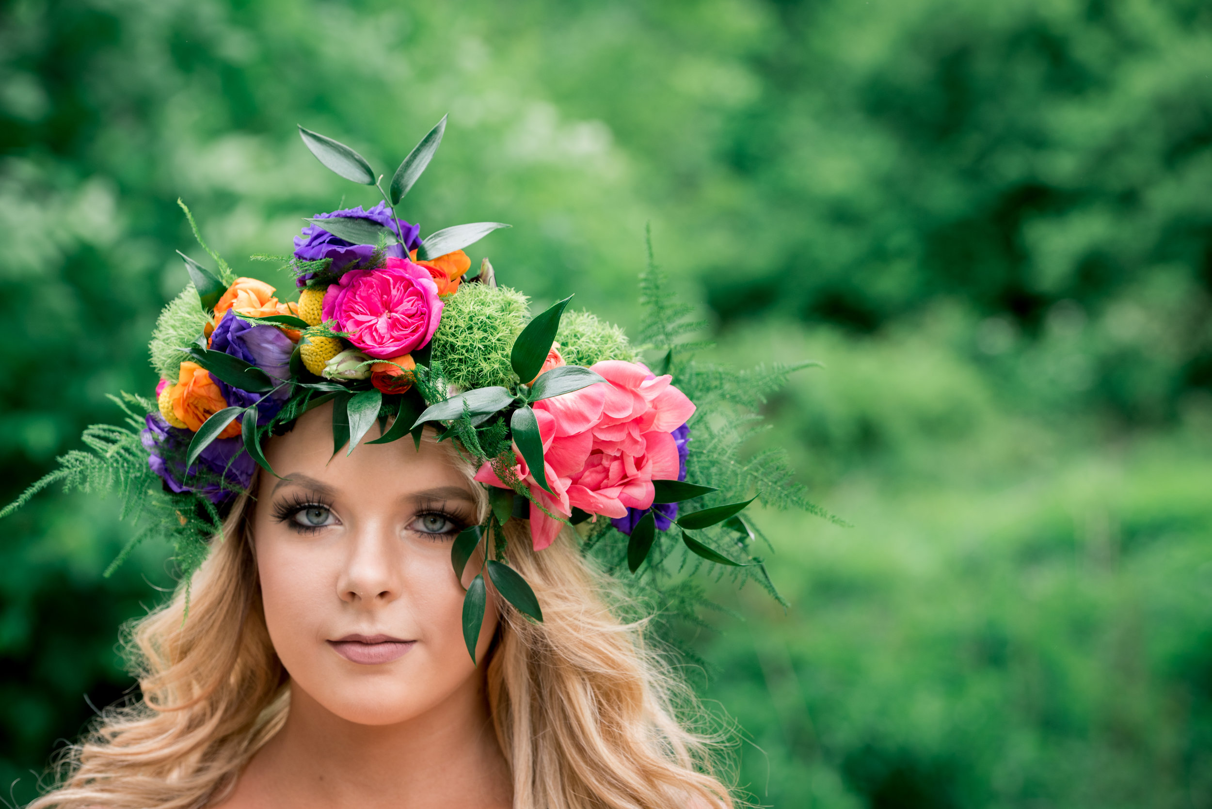 Floral Crowns - Kirsten Getz Photography
