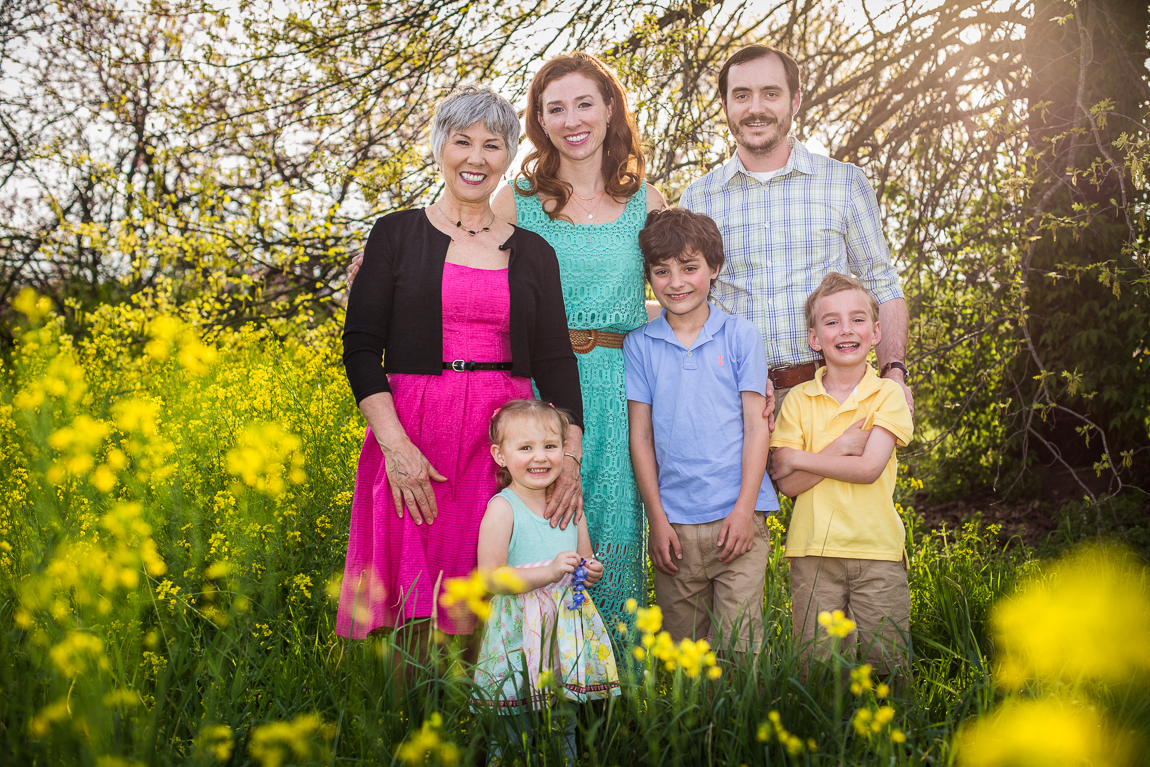 Knoxville Spring Family Session