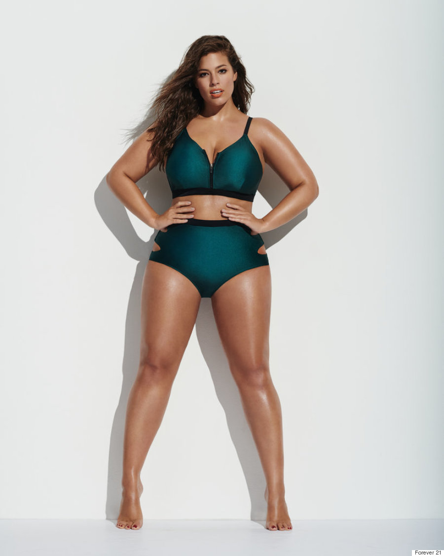 Ashley Graham for Forever 21, 2016