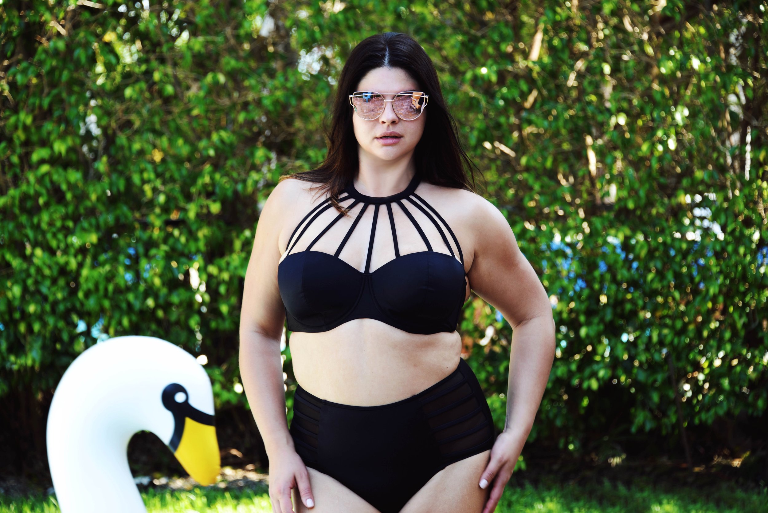 Swimsuit by Adore Me, Photo by  Will Shreve