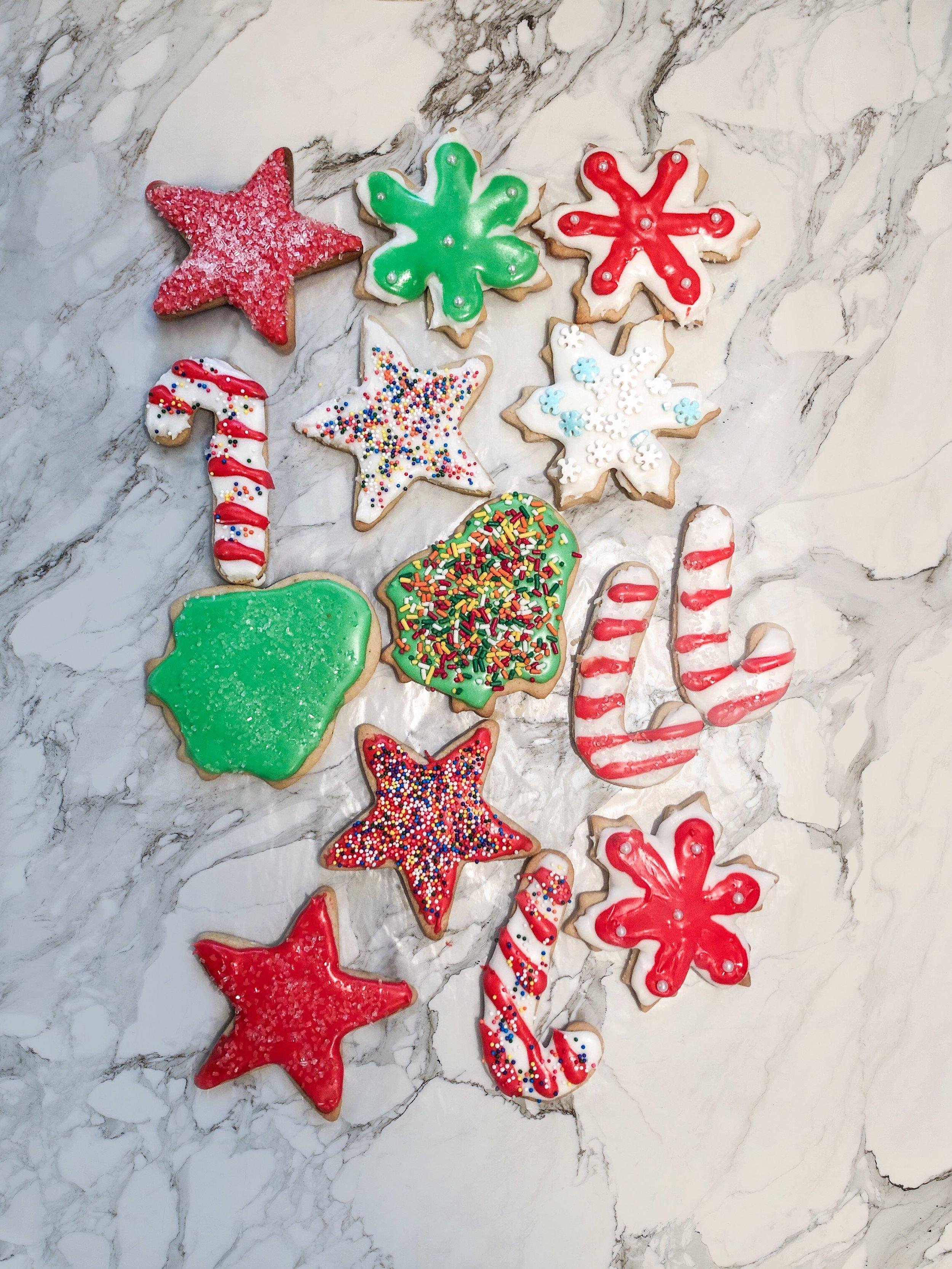 Perfect Cut Out Sugar Cookies - Recipe Below!