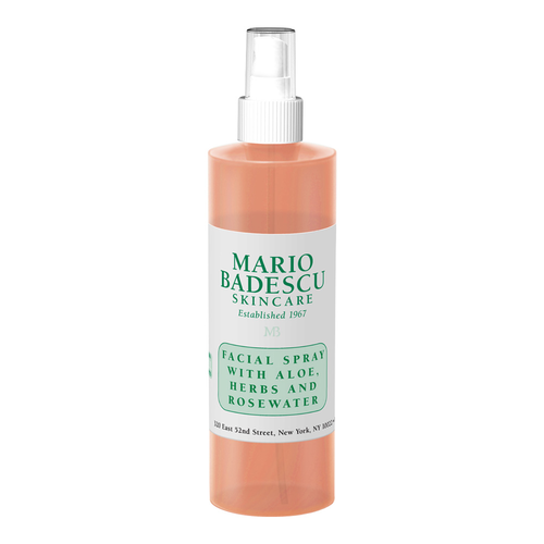 Mario Badescu Facial Spray With Aloe, Herbs and Rosewater, available from  Ulta Beauty