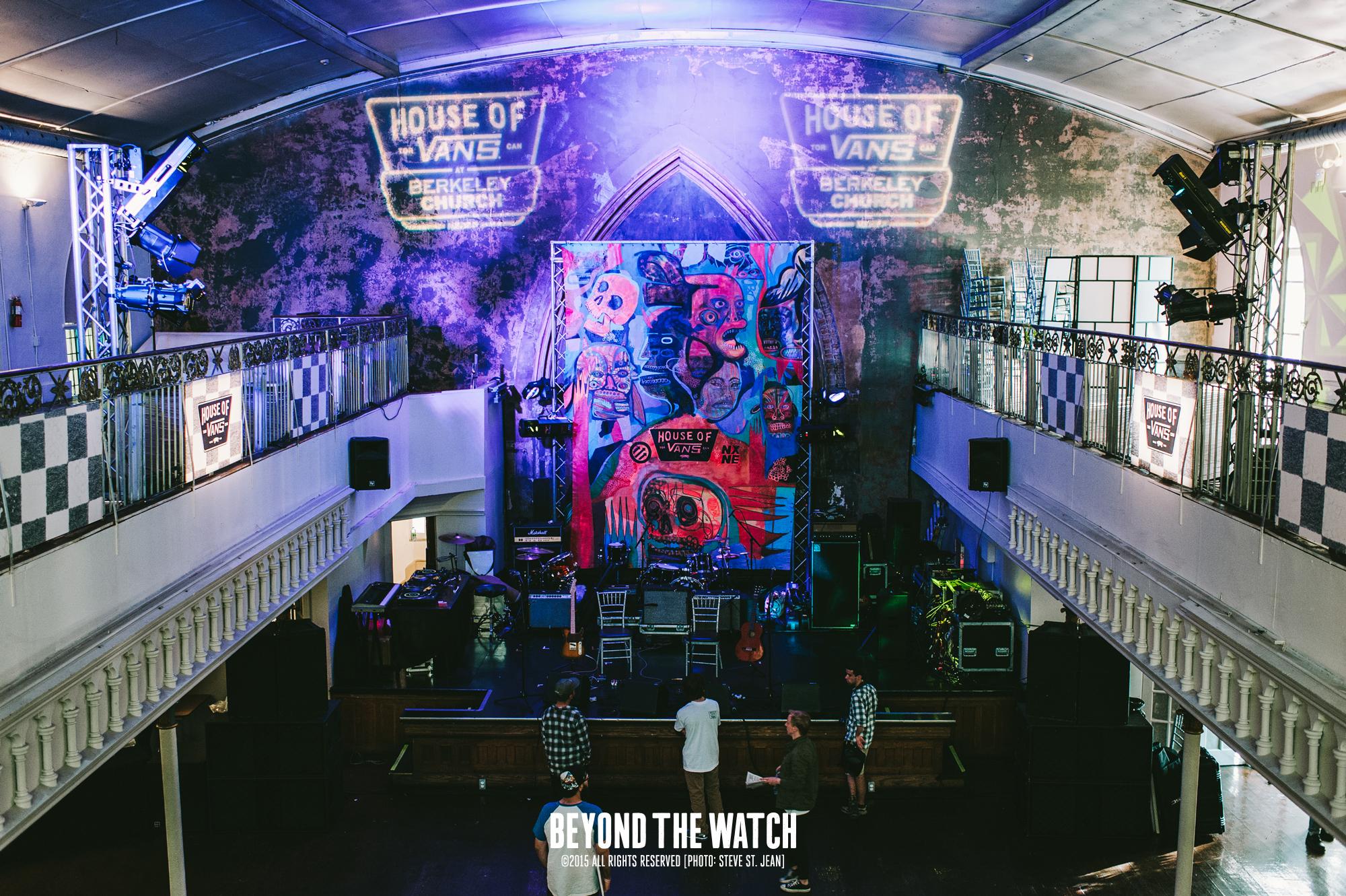 House of Vans x Pitchfork @ Berkeley Church