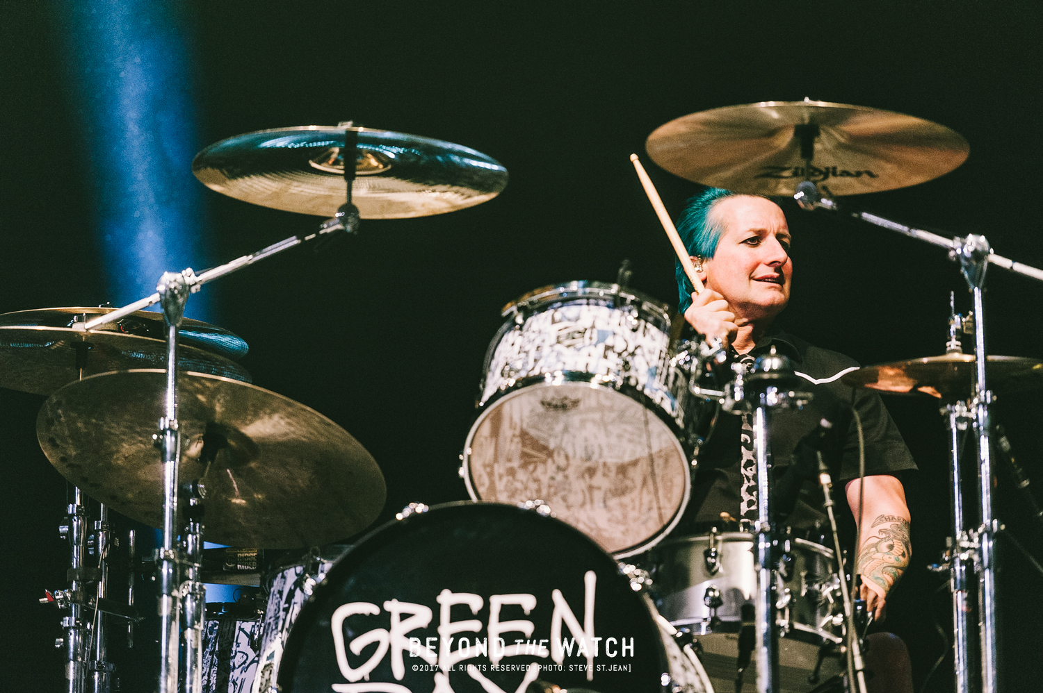 Tré Cool of Green Day