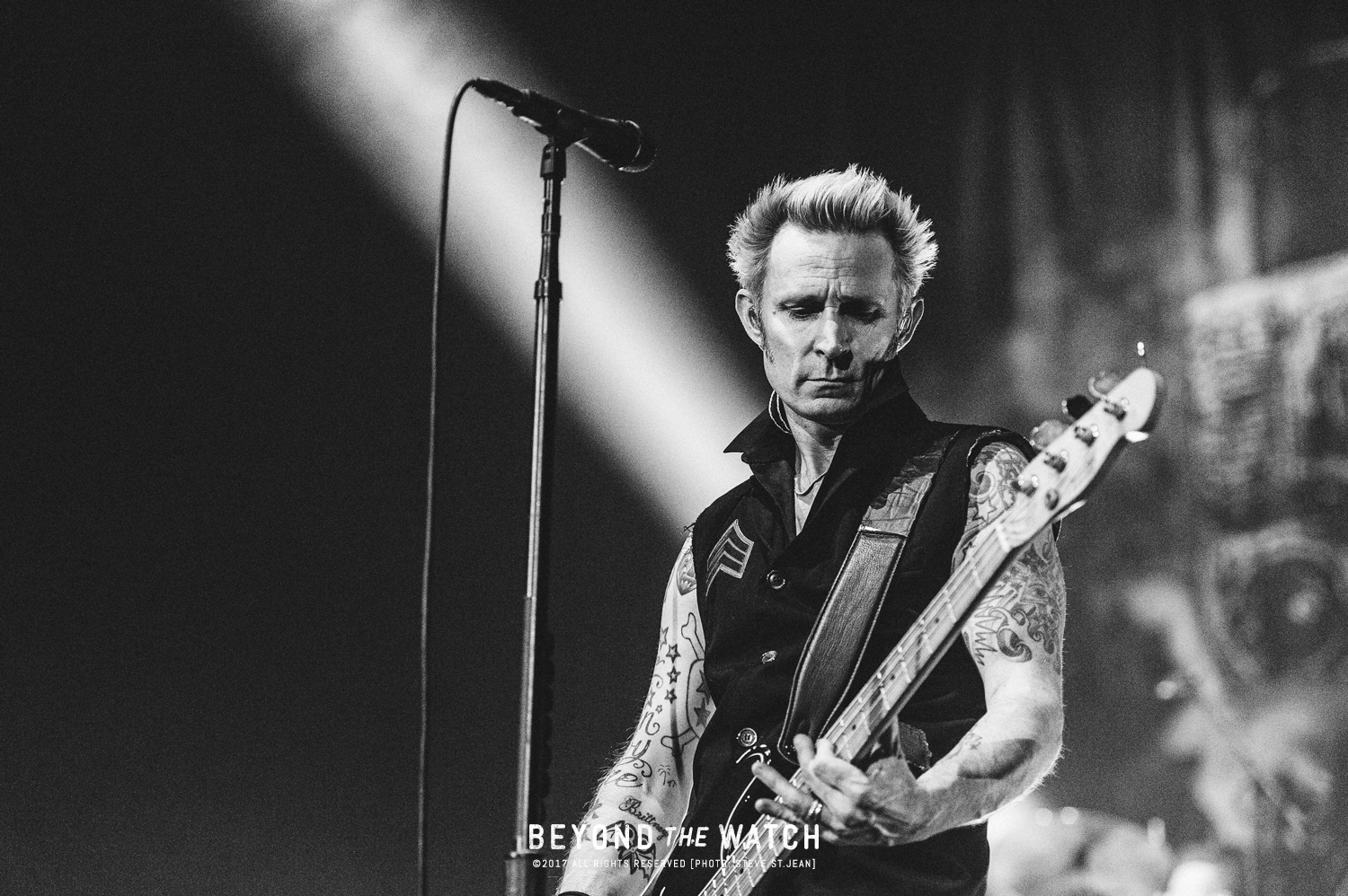 Mike Dirnt of Green Day