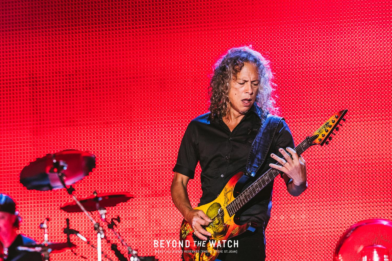 Kirk Hammett was unbelievable as per usual.