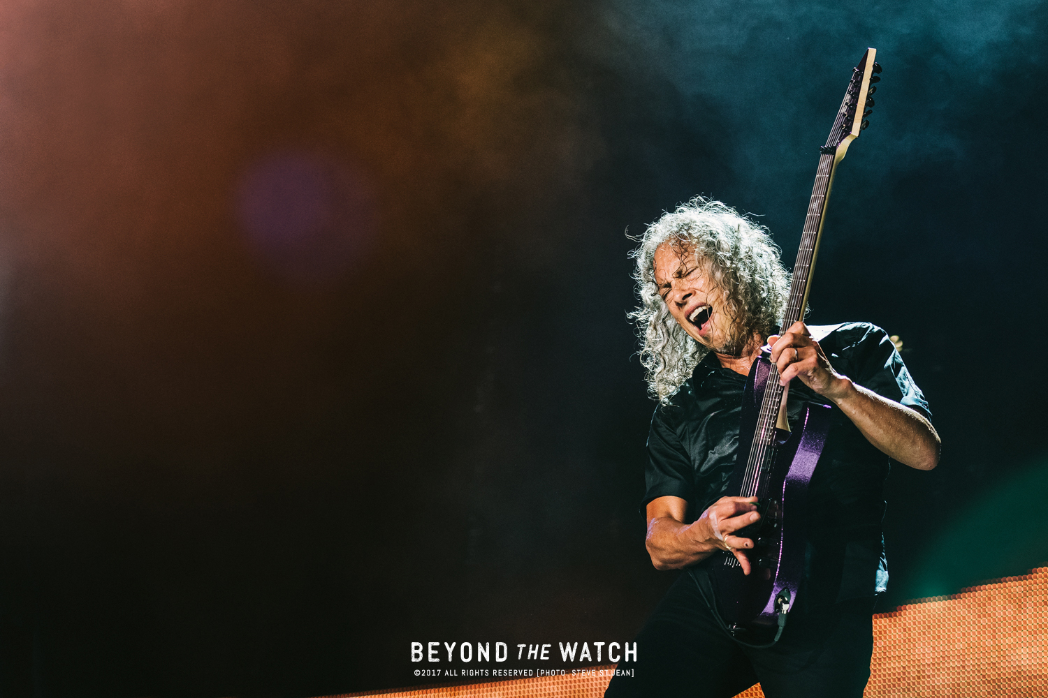 Second favourite shot of the night. Hammett is amazing to photograph.