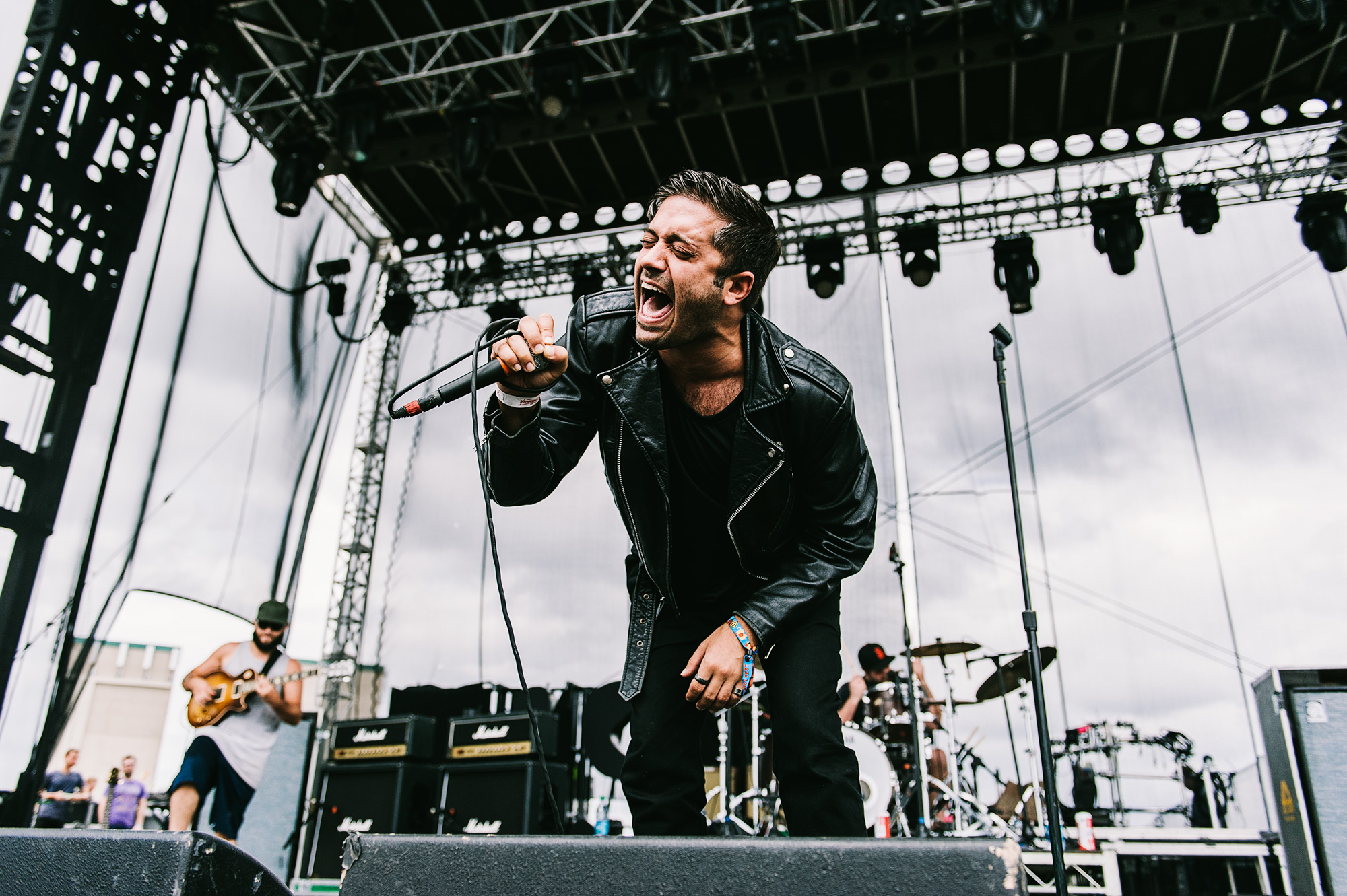 Glassjaw at Riot Fest (2014)  Nikon D700 with Nikon 24-70mm f/2.8. Exposure: 1/1250 second, f/3.5, ISO 200