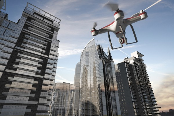 National Markets Apartments with Use of Drones