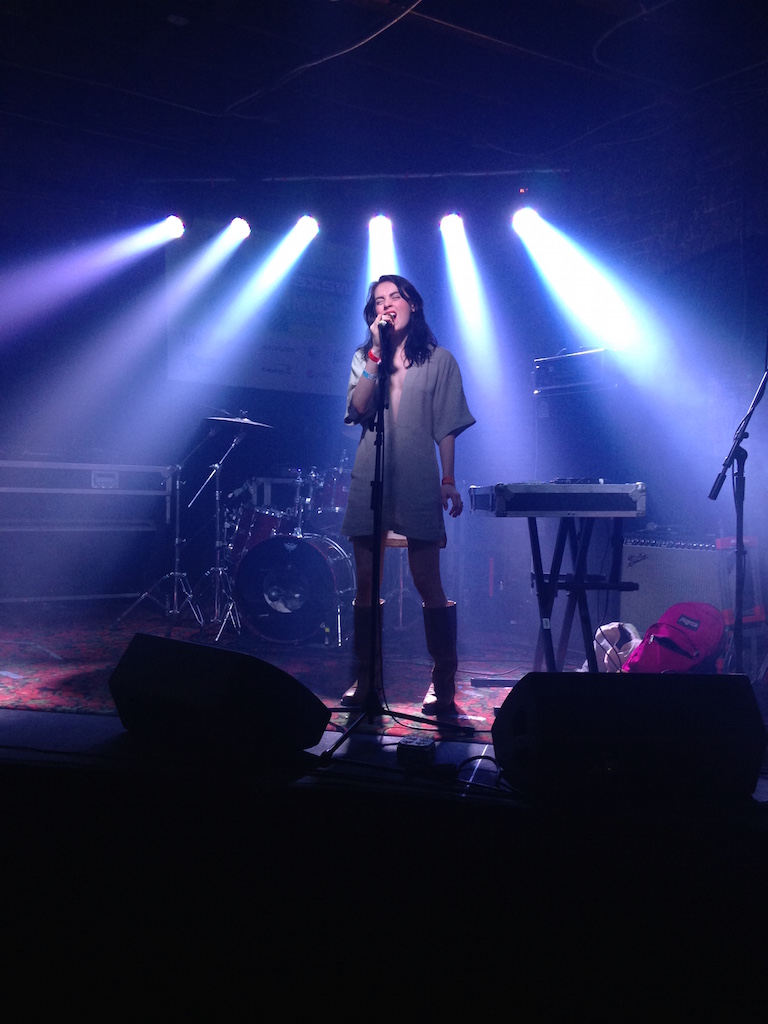Leanne Macomber of Young Ejecta at IHEARTCOMIX Showcase