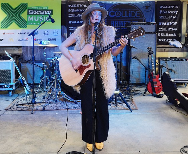 Lindsay Perry at Tillys Showcase with Culture Collide.  Image by Tilly's