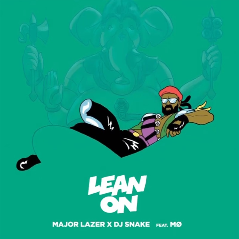 """""""Lean On"""" by Major Lazer became the most streamed song of all time this week."""