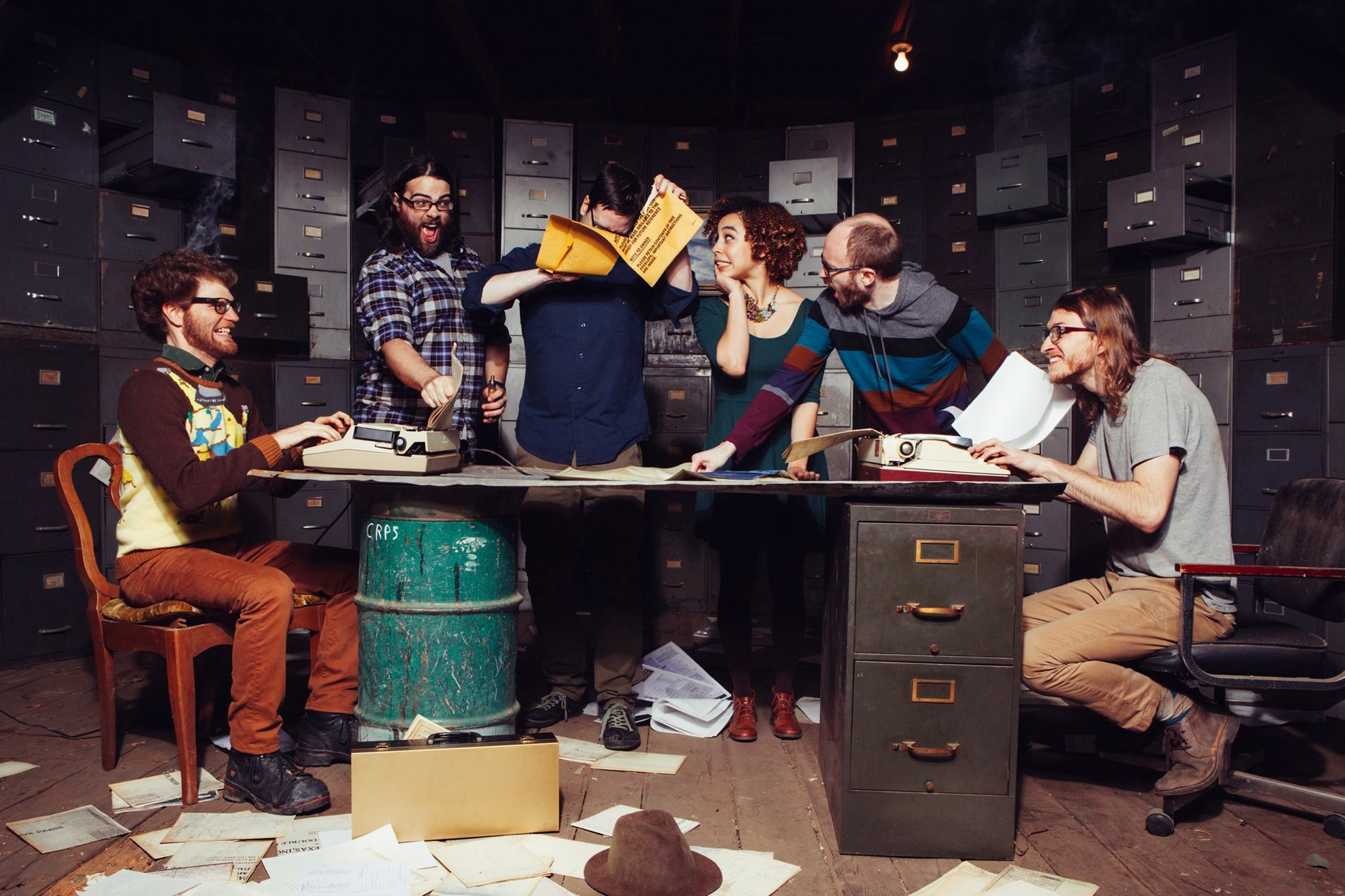 This gaggle of folk rockers are releasing their new album very soon and we can't wait to hear it!