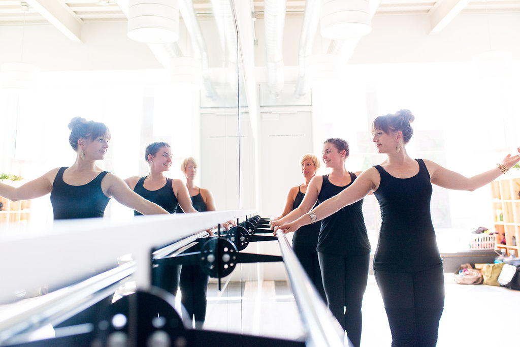 Barre Teacher Training just outside of Portland, OR.  In the PNW