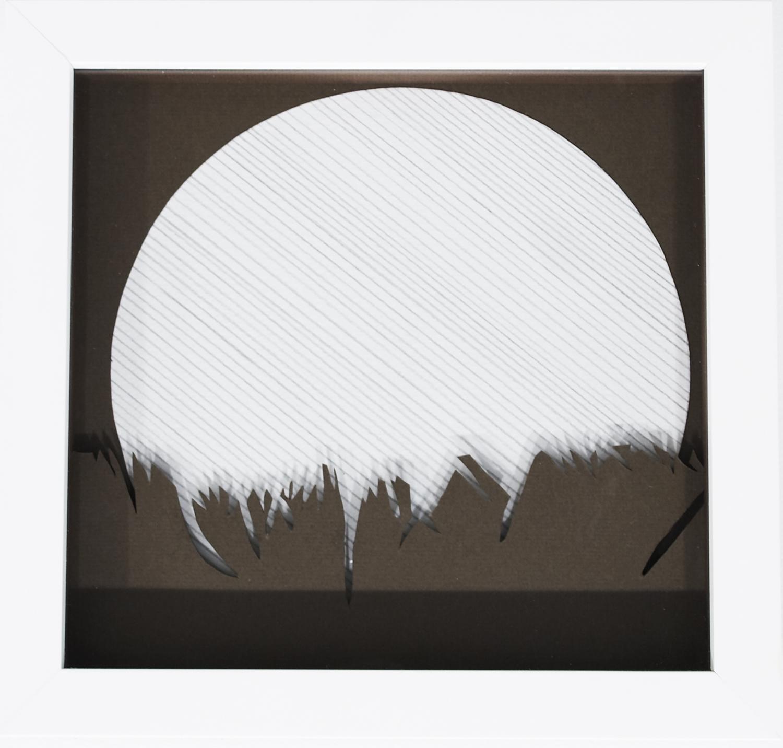 Moon, 2008, Pastel on card