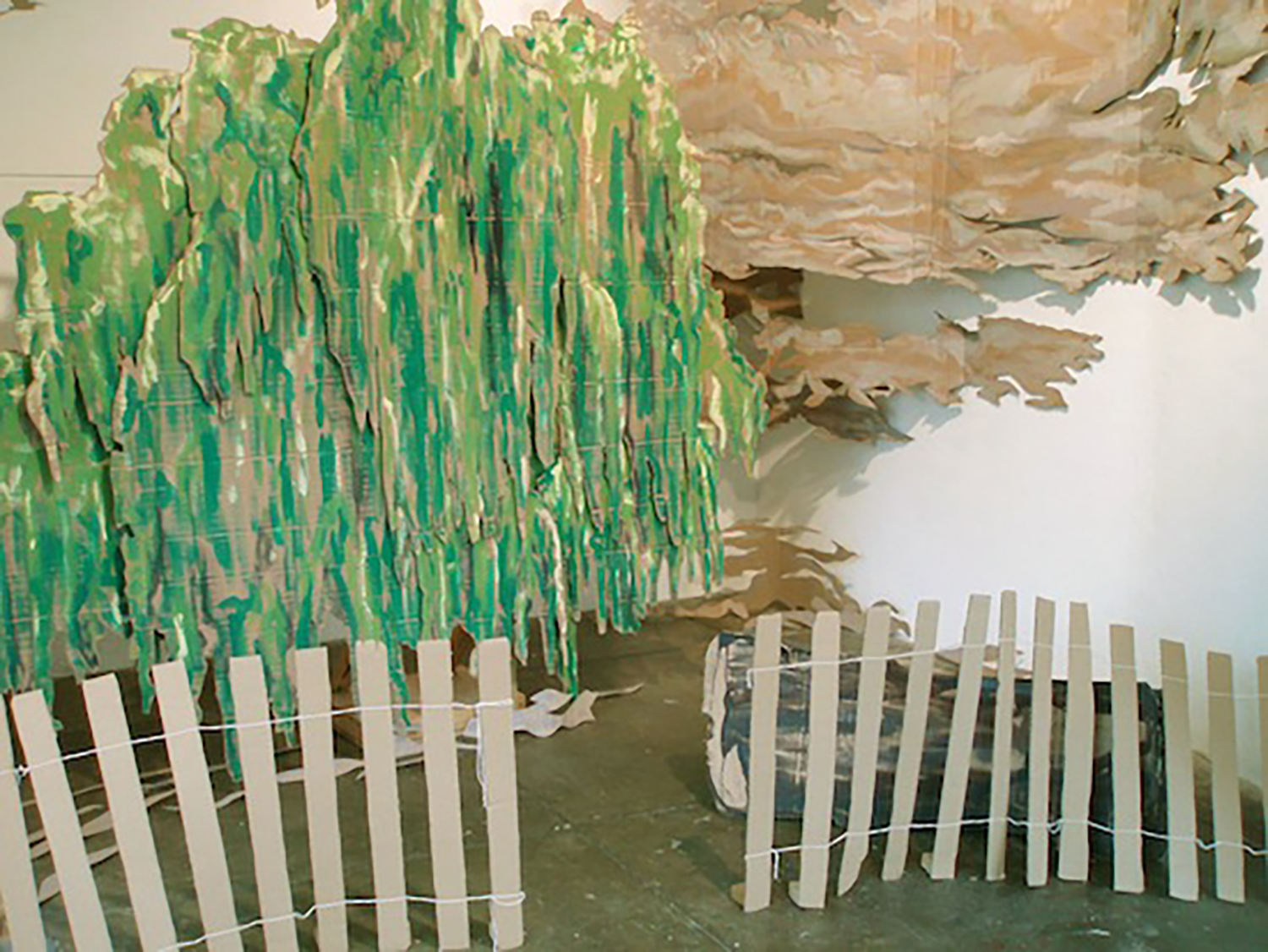 Constable is cool (installation detail), 2006, Mixed media installation, Dimensions variable