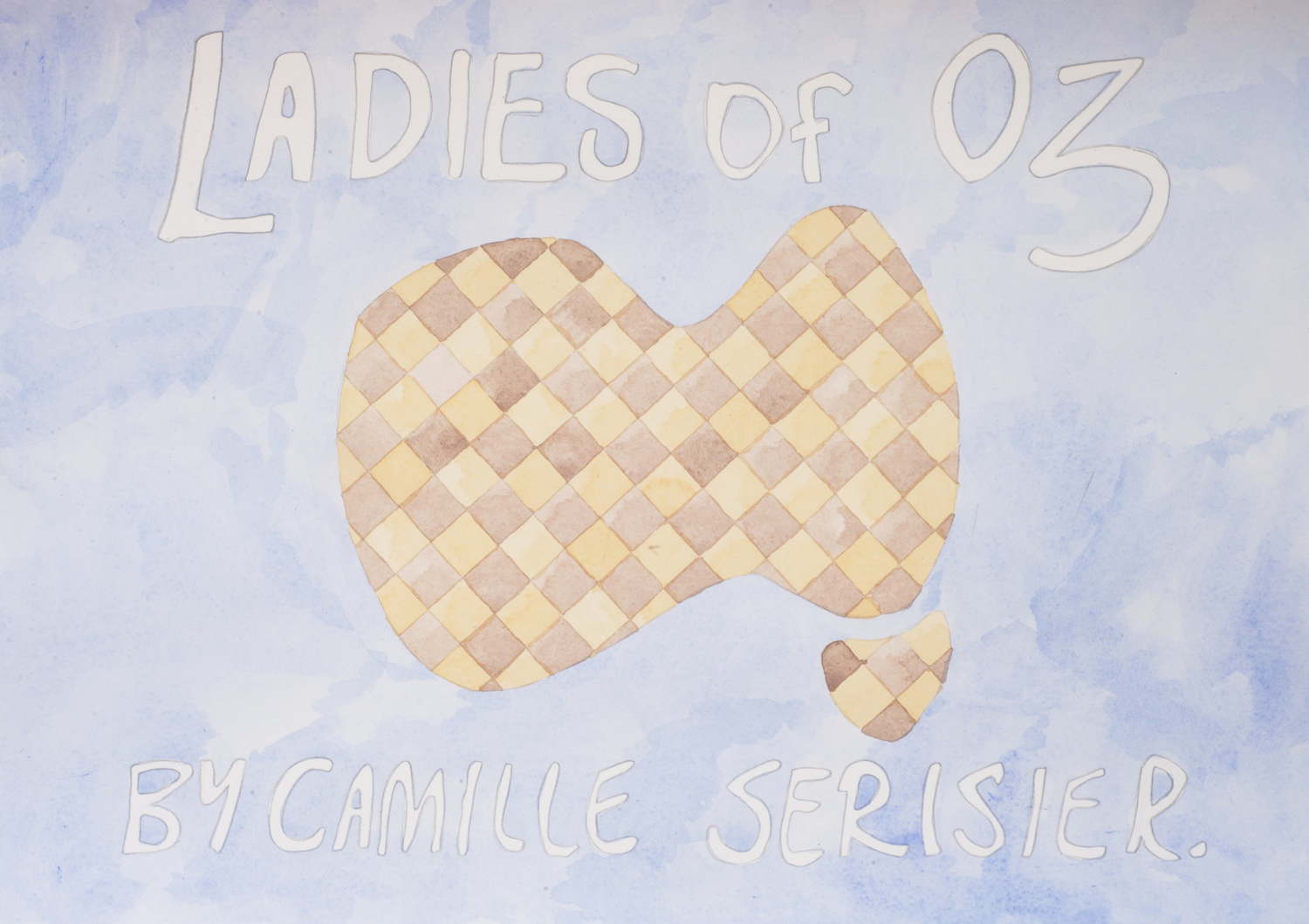 Ladies of Oz, 2016, Watercolour and pencil on paper, 42.0 x 29.5 cm, Unique object