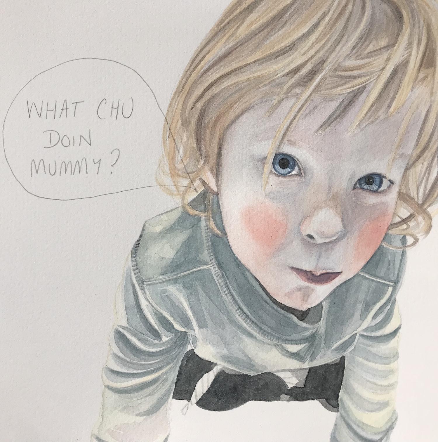 Camille Serisier, Toddlerlife , 2018, 21.0 x 21.0 cm, Image copyright Camille Serisier