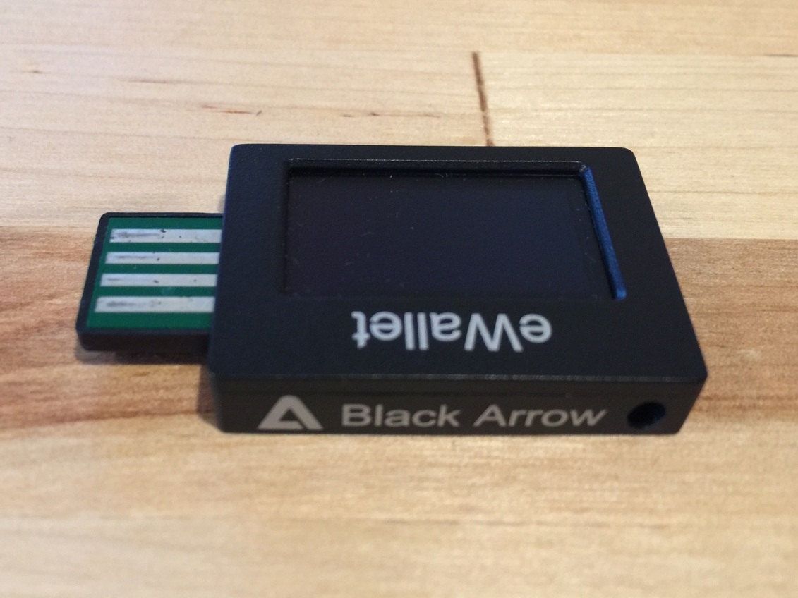 Black Arrow branding.  The build quality is decent enough.