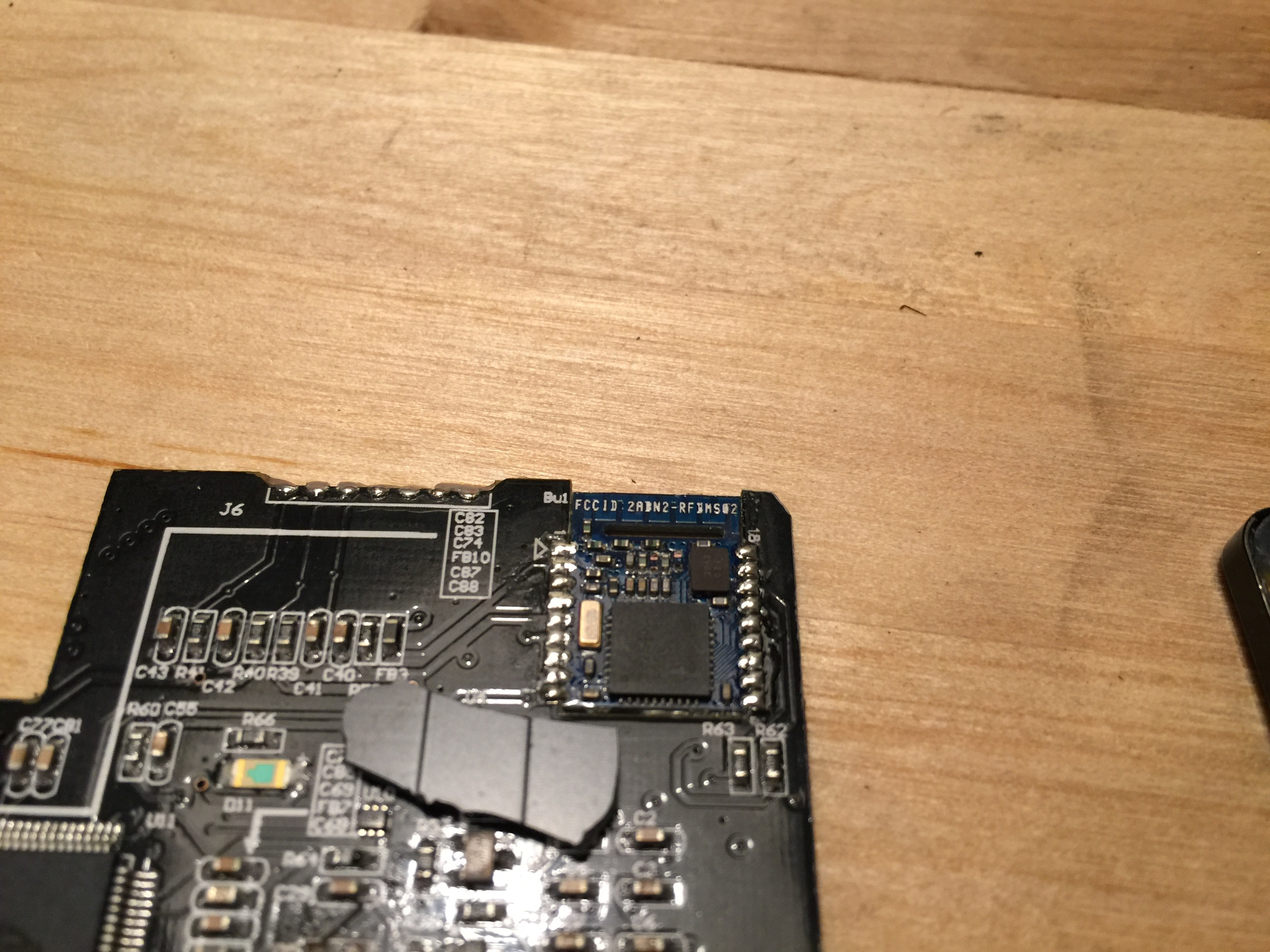 Off-the-shelf bluetooth module