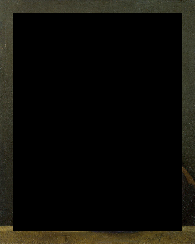 bronzino / black rectangle
