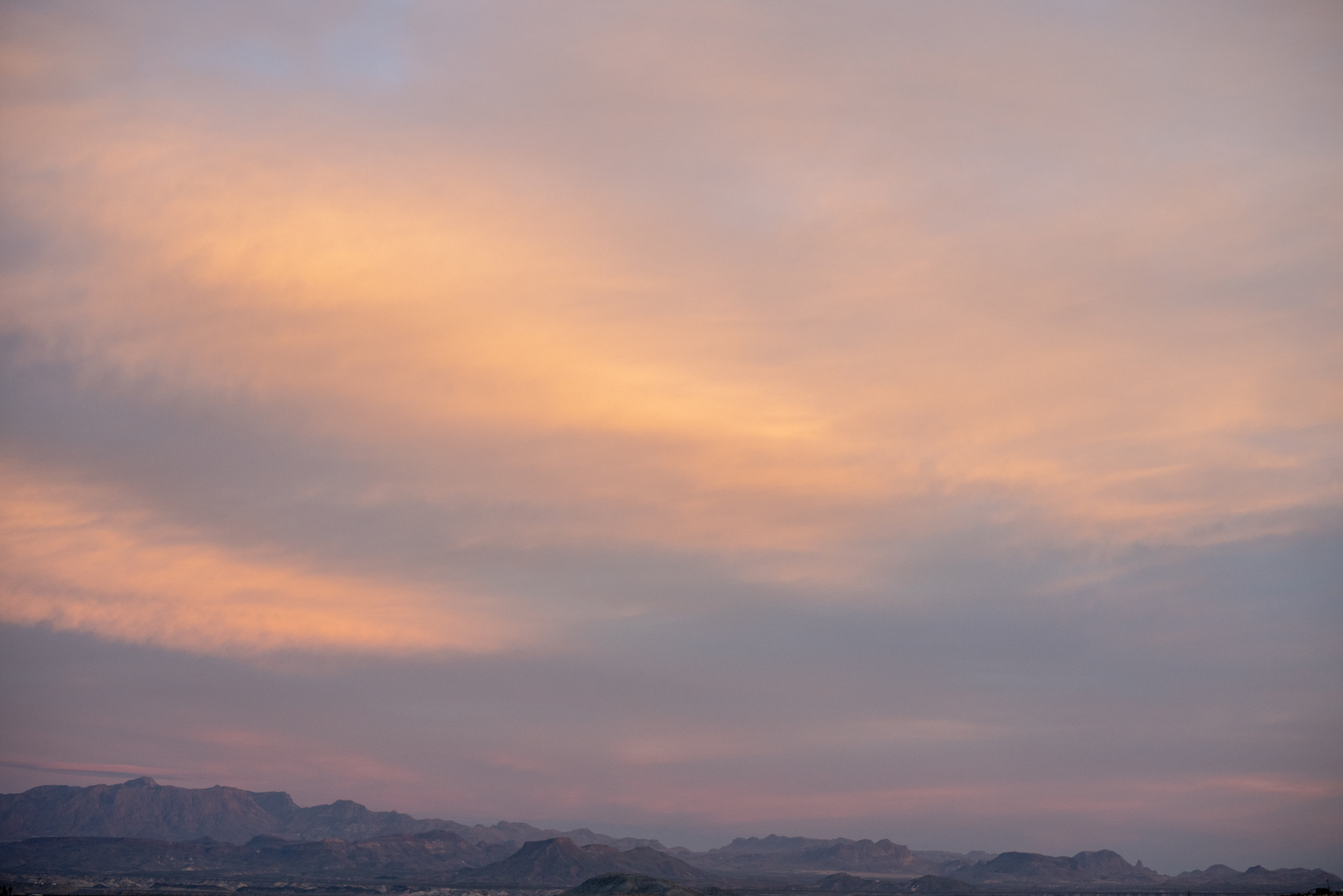 terlingua sky, dusk