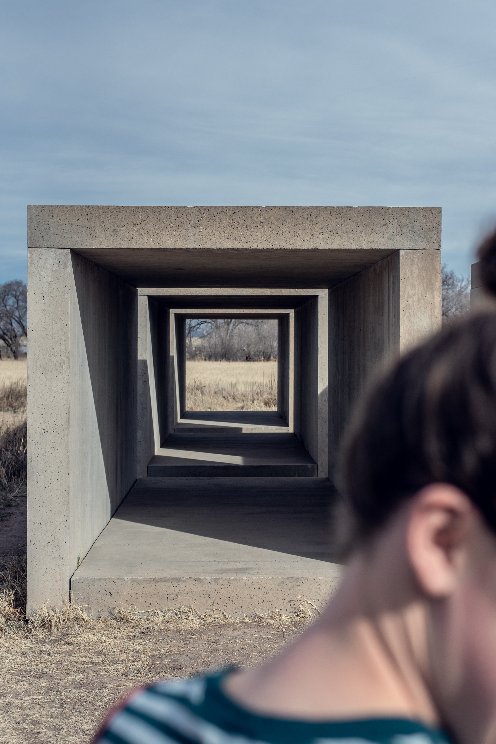 anna, the chinati foundation, marfa texas