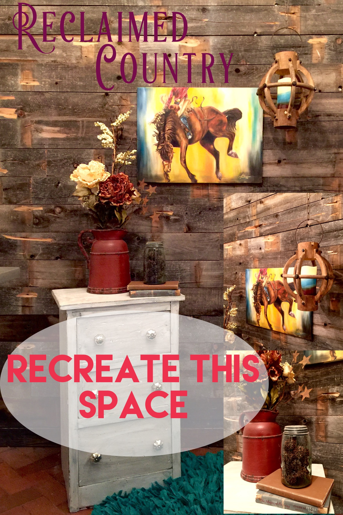 Reclaimed Country, Recreate this Space, Space 1.1, Shelbyathome.com