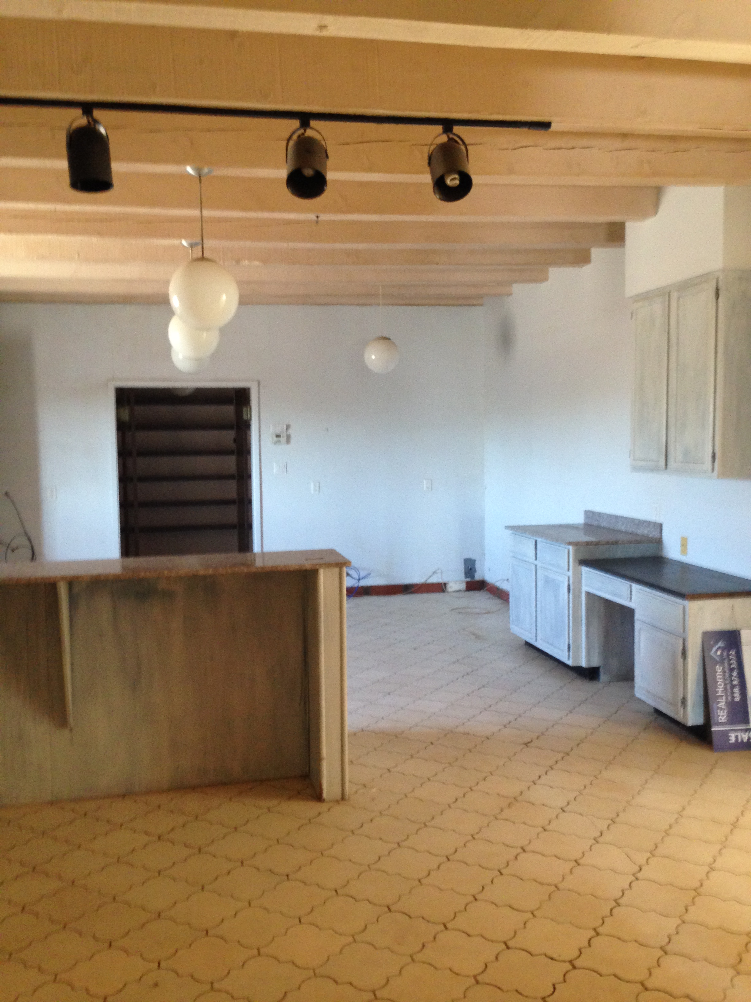 Kitchen at first look