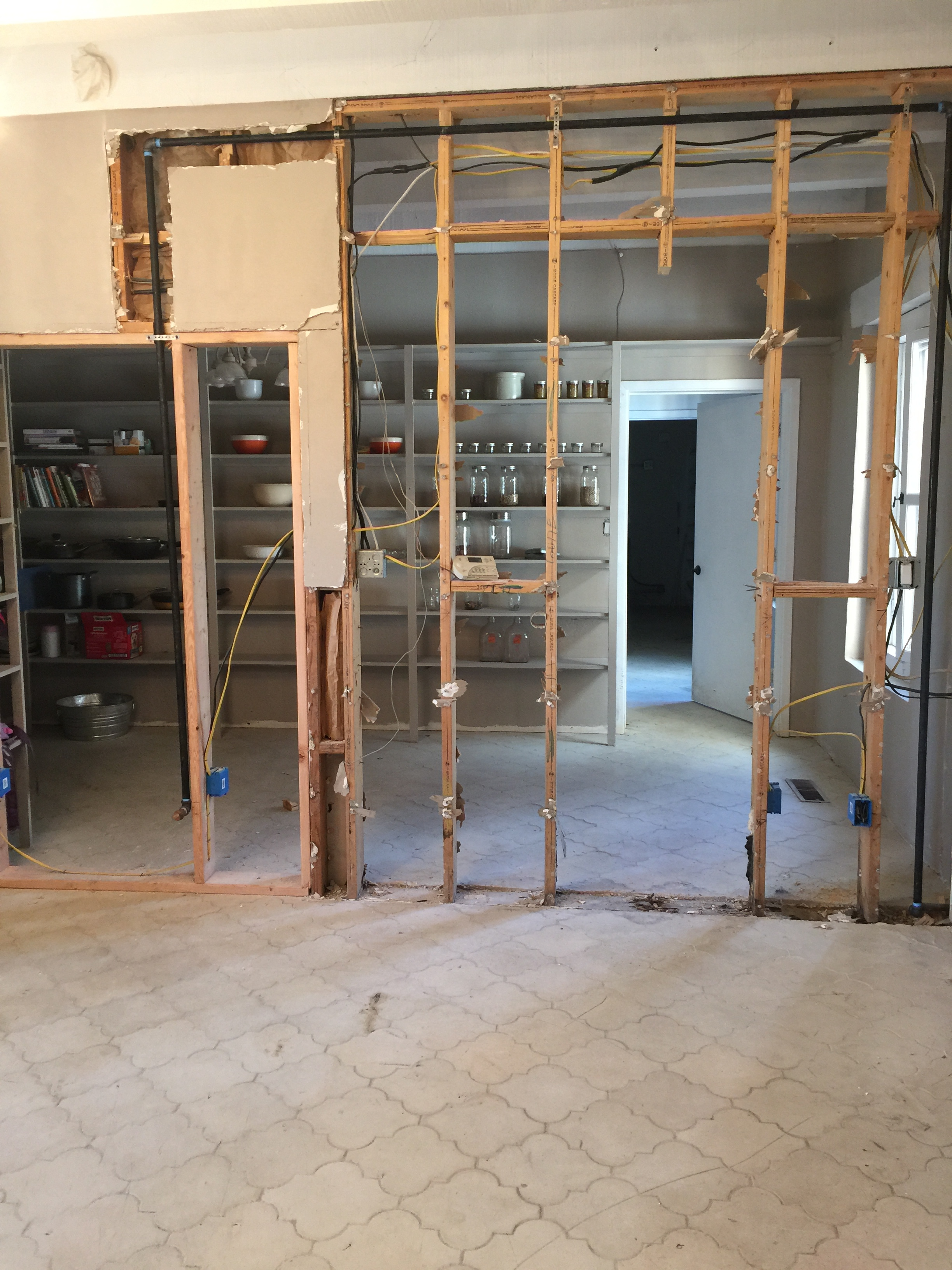 A New Mexico Farmhouse: Renovation- 4